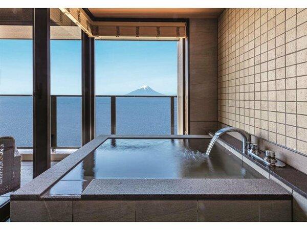 貴賓室半露天風呂付き