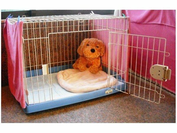 小型犬用 ケージ  ワンダーホテル別棟でのお預かりとなります。