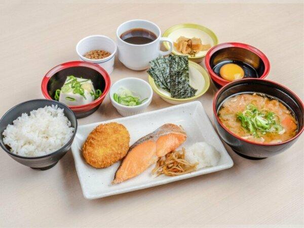 スペシャル和朝食A(焼鮭)