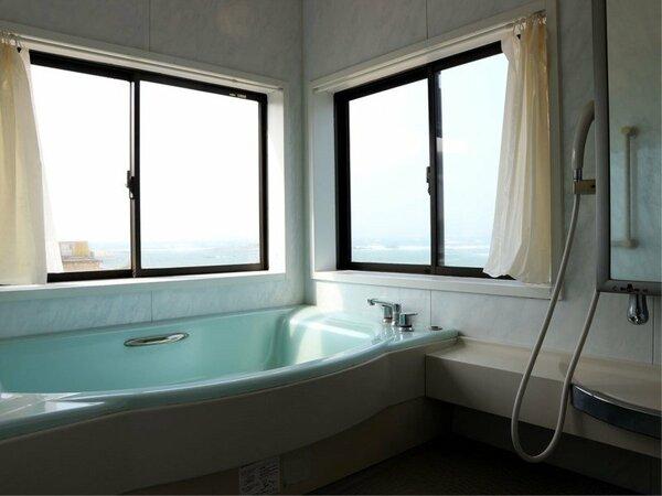 *【お風呂】家族風呂は貸切で順番にご利用ください。