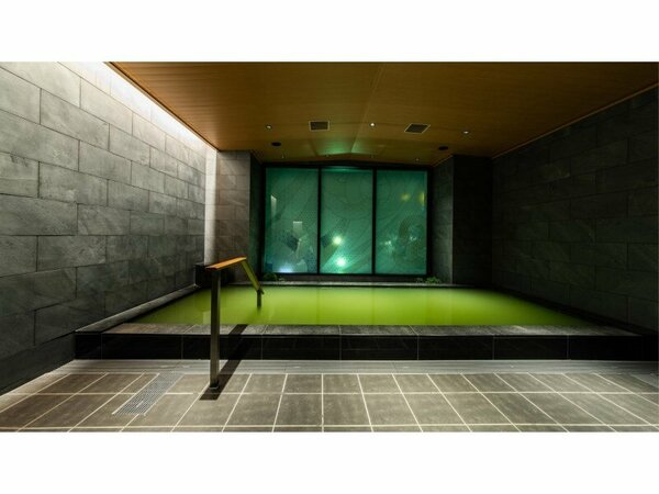 人工温泉により九州各地の湯をお楽しみいただいております。