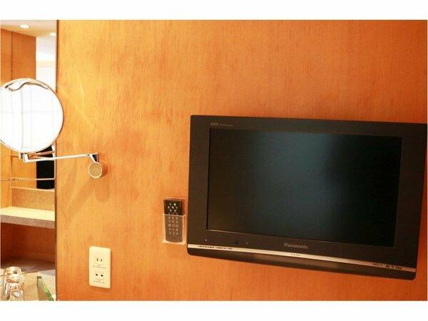 テレビを見ながらのバスタイム