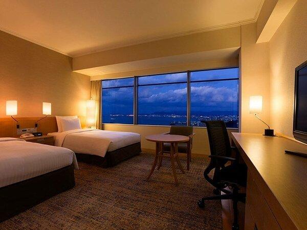 【デラックスツイン 35-47平米】ゆったりとした広さでワンランク上のホテルステイをお楽しみください