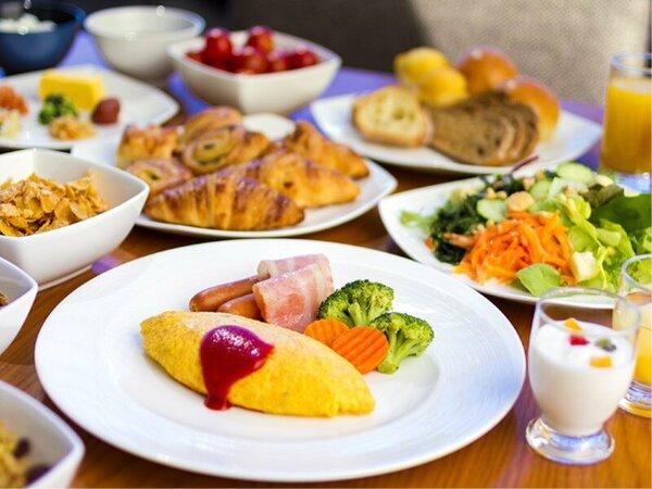 【朝食ブッフェ】一日の元気をチャージ!!ヒルトン自慢の朝食をご堪能ください。
