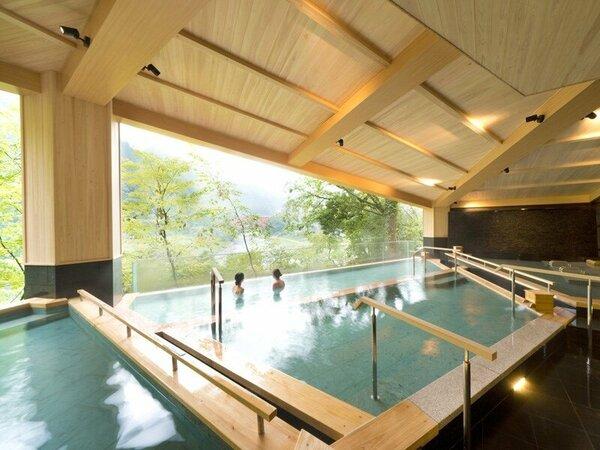 9月19日黒部峡谷の絶景を楽しむ展望露天風呂「棚湯」オープン!