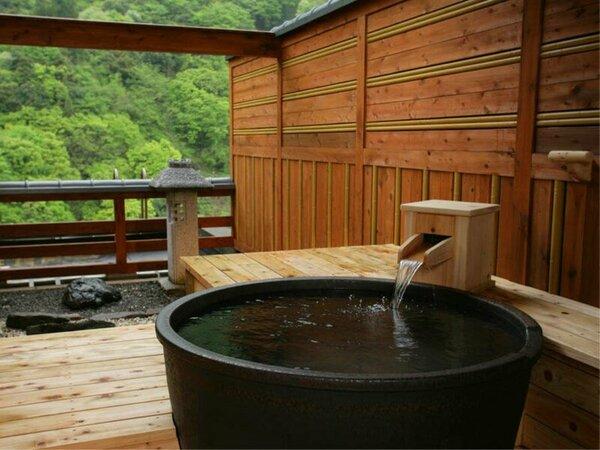 露天風呂付客室 【陶】 ―黒部峡谷の四季の香りに包まれ景観も温泉もあなただけのもの。―