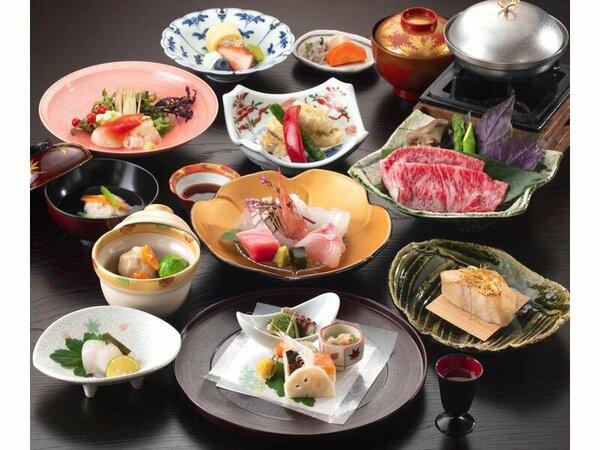料理の一例(イメージ)四季の旬彩膳(基本)