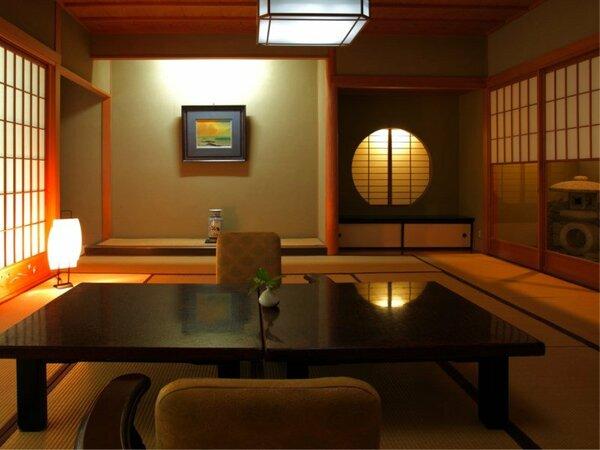 新館 【対峰閣】 ―石庭付きの風韻な客室。―